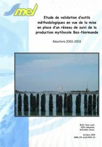 Rapport REMOULNOR 2002-2003