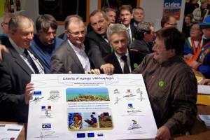 Signature de la charte au salon de l'agriculture (@NFM)