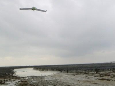 Drone en vol (SMEL)