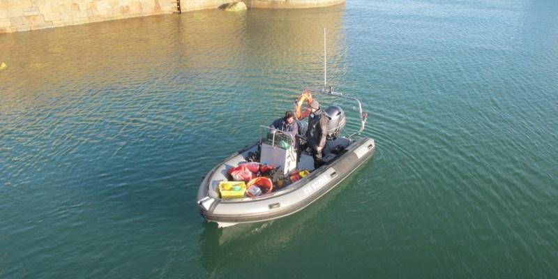 Arrivée au port à bord du Donax II (@SMEL)