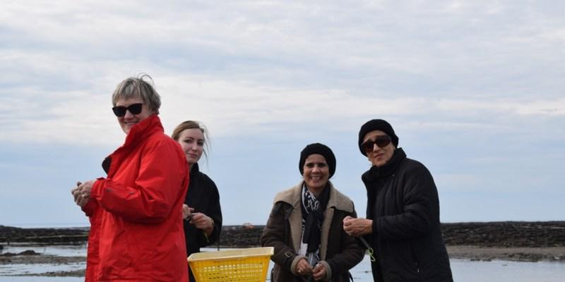 Visite sur l'estran blainvillais pour la délégation de l'Université de d'El Tarf (Algérie) (@SMEL)