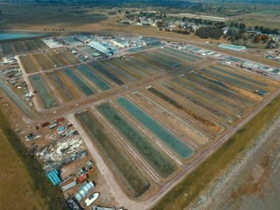 Zone de la CABANOR (Vue prise par le drone du SMEL)