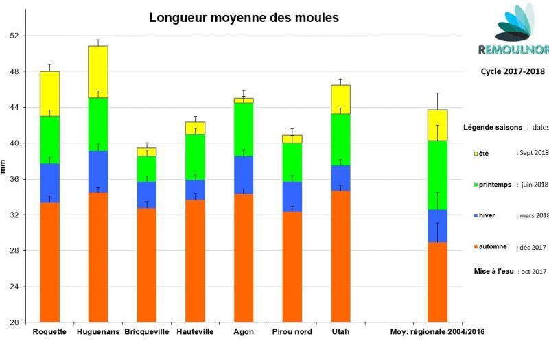 Longueur moules
