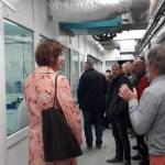 Visite d'une délégation estonienne au SMEL.