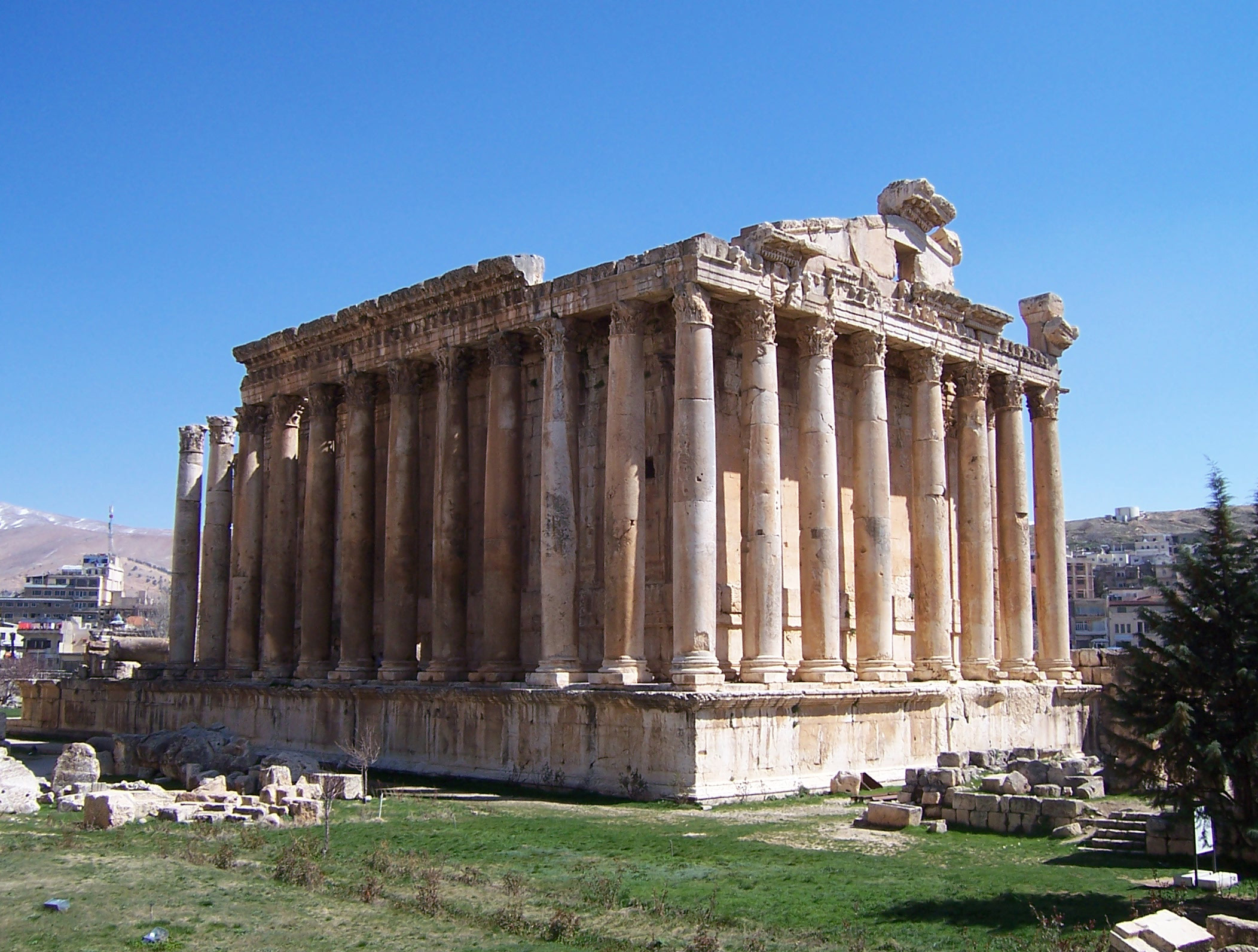 Temple of Jupiter - Baalbek, Beqaa Valley