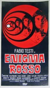 Enigma Rosso poster