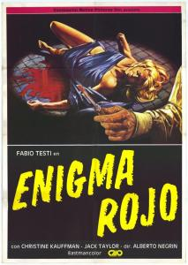 enigma rosso poster 2