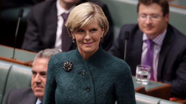 Nuclear door re-opened: Foreign Affairs Minister Julie Bishop.