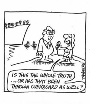 Tandberg in The Age, 11 October 2001.