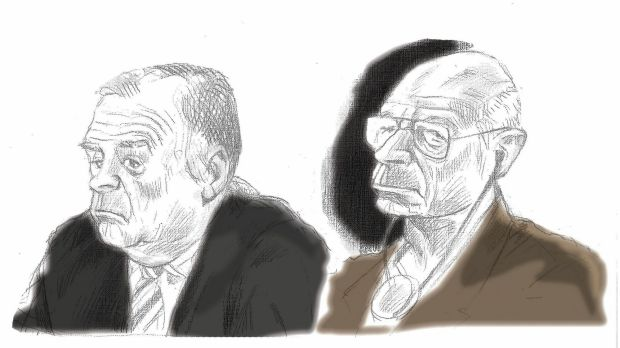 New trial date: former detectives Glen McNamara and Roger Rogerson will appear before the NSW Supreme Court on August 18.