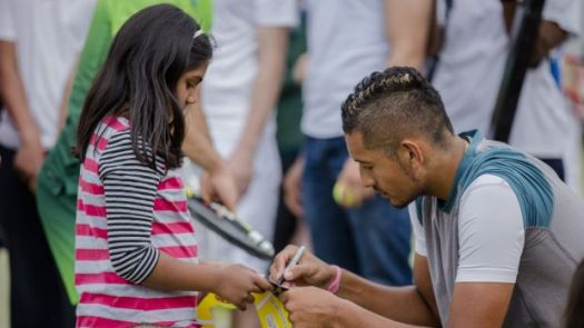 Nick Kyrgios king of the kids in Canberra with controversy ...