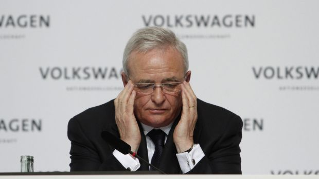 Martin Winterkorn, chief executive officer of Volkswagen, has resigned following the emissions scandal. Photo: Bloomberg