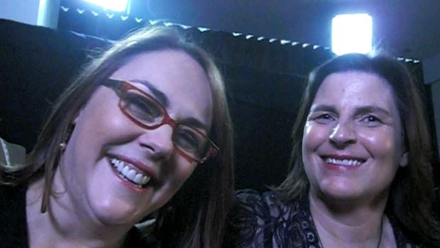 Dynamic Duo: The Dressmaker director Jocelyn Moorhouse (left) with producer Sue Maslin.