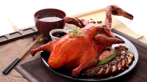 Peking Duck, China's most famous dish.