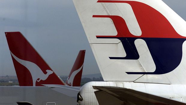 Qantas does not offer any flights to Malaysia Airlines's hub in Kuala Lumpur.