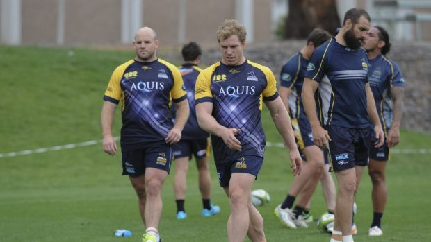 Brumbies captain Stephen Moore and David Pocock are two of nine players to leave the Brumbies this year.