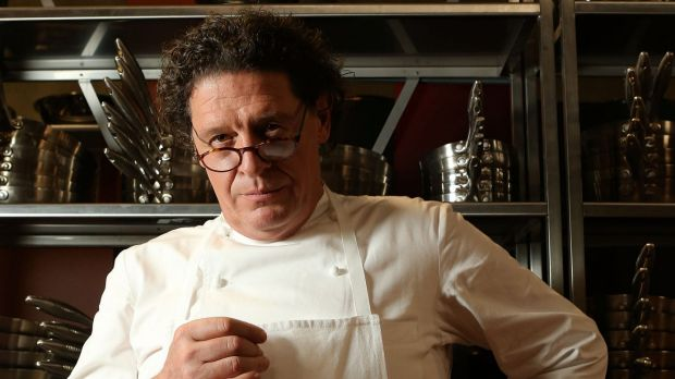 UK restaurateur Marco Pierre White.