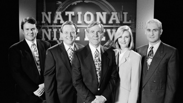 National Nine News in the 80