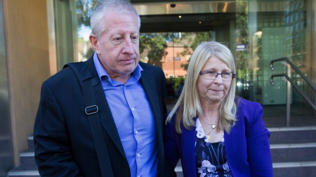Matthew Leveson's parents, Faye and Mark Leveson.