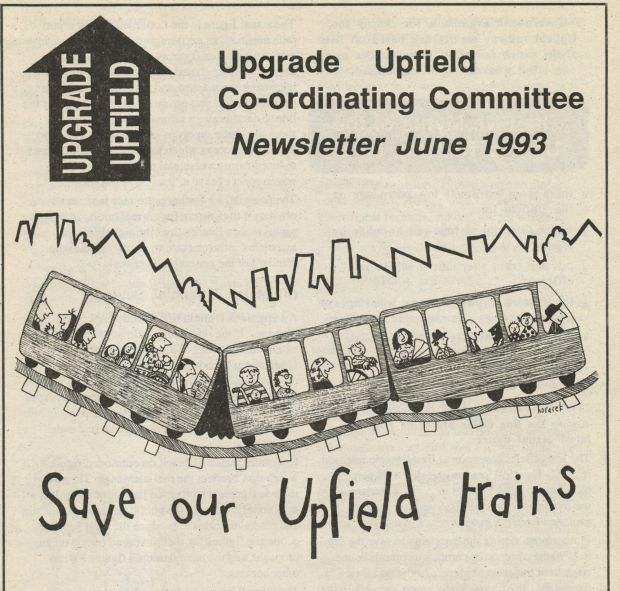 Upgrade Upfield Co-ordinating Committee Newsletter June 1993 a