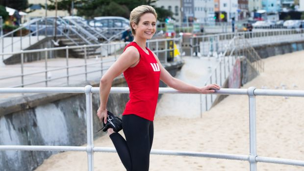 Tessa James prepares for the City2Surf.