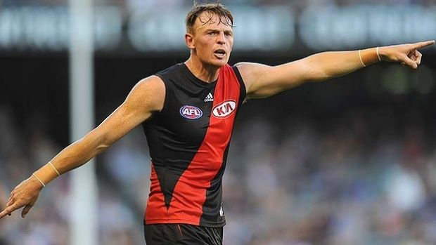 Brendon Goddard has re-signed with Essendon.