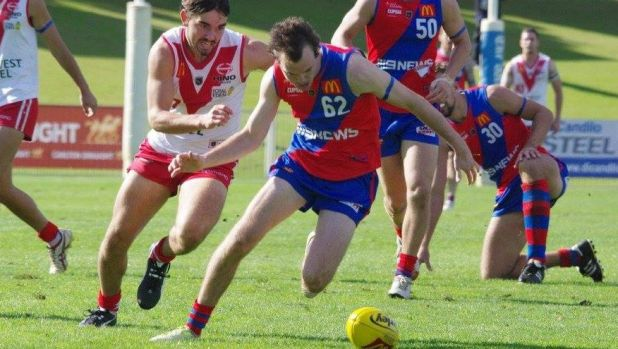 West Perth reserves football Mitchell Antonio has been banned for 10 games.
