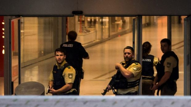 The attack in Reutlingen comes just days after the shooting at the Olympia Einkaufzentrum shopping centre (pictured) in ...