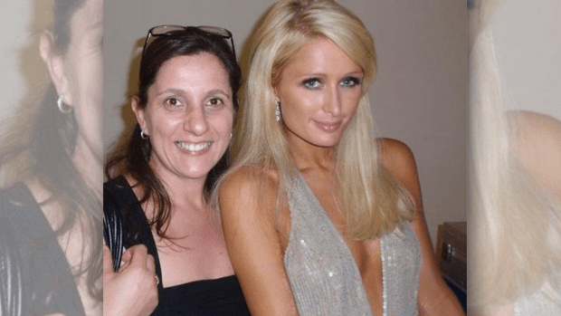 Donna Demaio and Paris Hilton