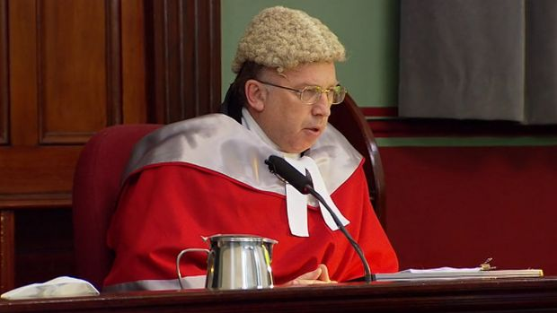 Justice Robert Beech-Jones delivers his decision in the Eddie Obeid sentencing.