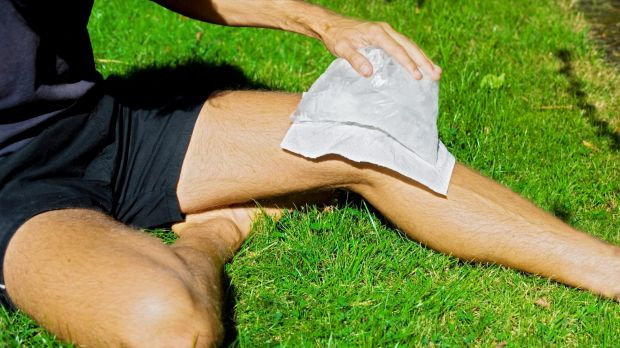 Icing an injury: There's little good evidence for it.