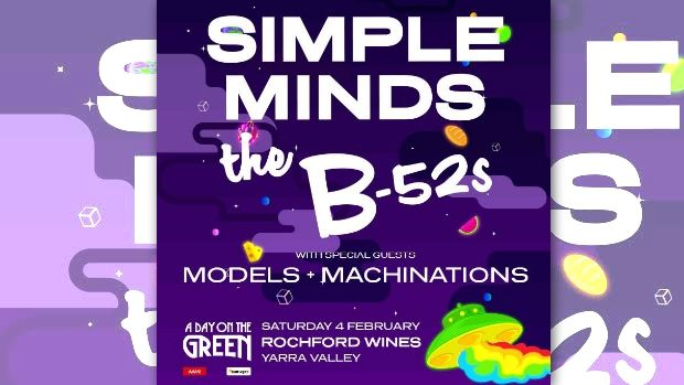 Simple Minds and The B-52???s