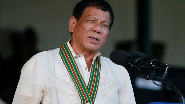 """Let us get what is ours now,"" Philippine President Rodrigo Duterte said about islands in the South China Sea."
