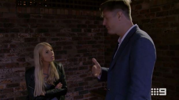 Ashley and Troy argue over what constitutes being interested in sex. Married at First Sight season 5 ep 15.