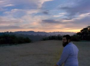 Hiking for prayer