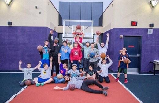 The basketball team