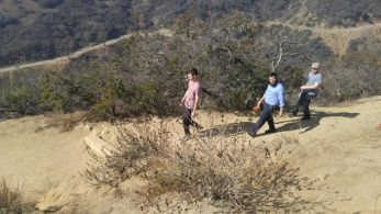 BTM hits the trails