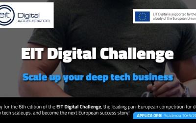 EIT Digital Challenge 2021: sfida tra le migliori scaleup europee del settore digital