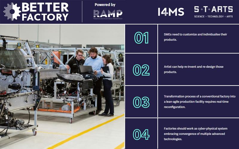Bando Better Factory: contributi a fondo perduto per testare nuove tecnologie per il settore manifatturiero
