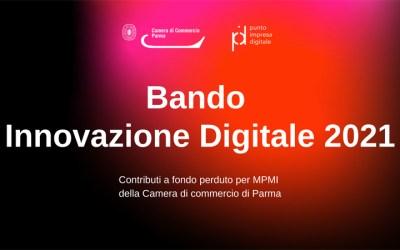 Bando innovazione digitale 2021 della Camera di Commercio di Parma: domande dal 9 giugno