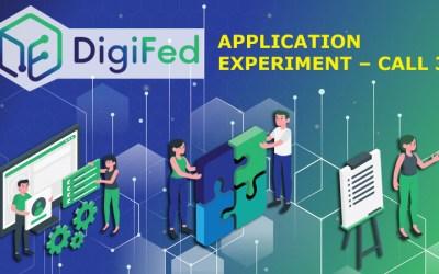 """Bando DIGIFED """"Application Experiment – Call 3"""""""