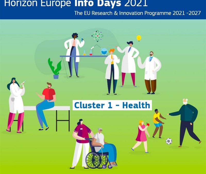 Horizon Europe: Info Day sui Bandi del Cluster Health & Brokerage event per le imprese – venerdì 2 luglio 2021