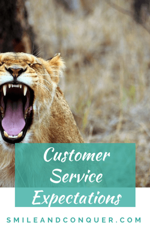 How have our expectations for customer service changed?