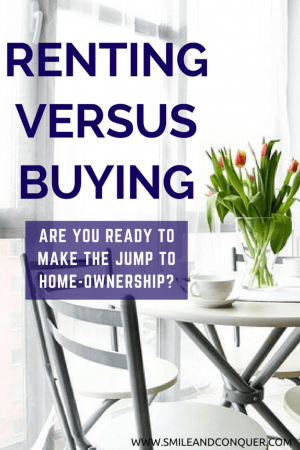 Ready to buy or should you keep on renting?