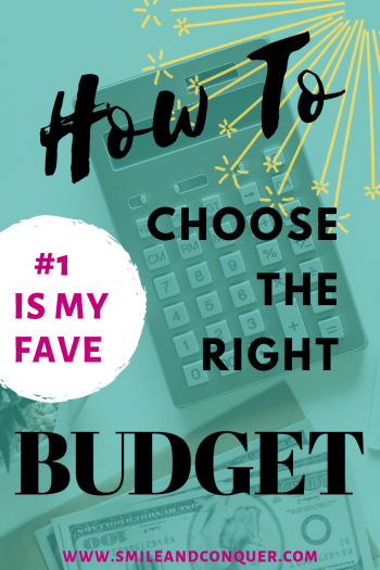 The reason you might hate #budgeting is because you haven't found the right budgeting style. Check out these options to find your fit!