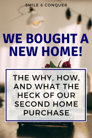 We're moving! How we (unexpectedly) bought a new home and why is was the right decision.