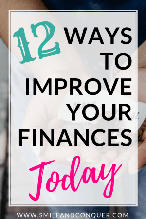 Easy money tips you can conquer right now to improve your finances.