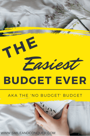 Budgeting gets a bad reputation for being boring and tedious but it doesn't have to be. Check out my easiest budget ever!