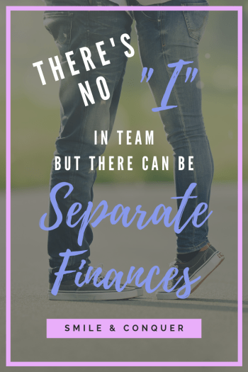 There's no best way to manage your money as a couple! Whether you combine or keep separate finances, the important thing is finding the right fit for you.
