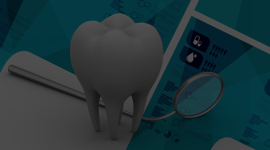 What is tooth enamel and what is its composition?